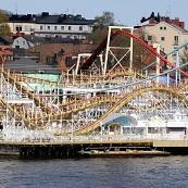 Gröna Lunds Tivoli - Twister - Djurgården